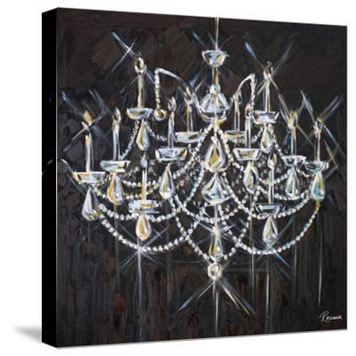 Chandelier II-Heather French-Roussia-Stretched Canvas Print