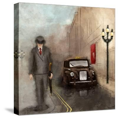 London Streets II-SD Graphics Studio-Stretched Canvas Print