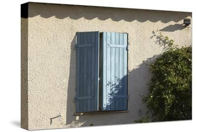 La Mas, Modern Traditional Style Provencal House. Window Detail-Richard Bryant-Stretched Canvas Print