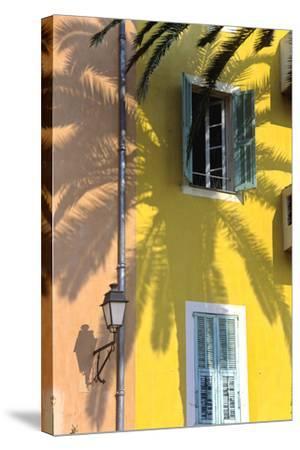 Cote D'Azur, Villefranche-Sur-Mer; Mediterranean Architecture-Marcel Malherbe-Stretched Canvas Print