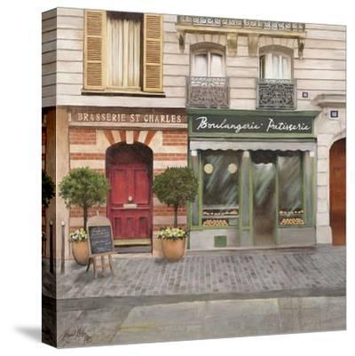 French Store I-Elizabeth Medley-Stretched Canvas Print