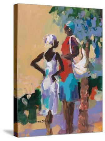 Saturday Morning I-Jane Slivka-Stretched Canvas Print
