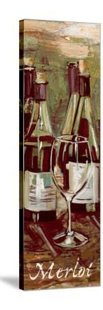Merlot-Heather A^ French-Roussia-Stretched Canvas Print