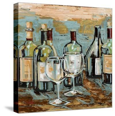 Wine II-Heather A^ French-Roussia-Stretched Canvas Print
