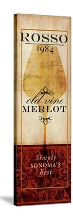 Vino II-Elizabeth Medley-Stretched Canvas Print