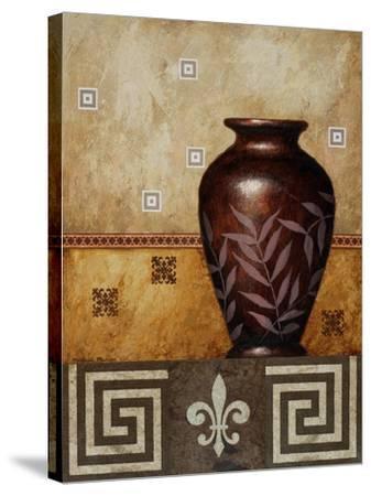 Mahogany Urn I-Michael Marcon-Stretched Canvas Print