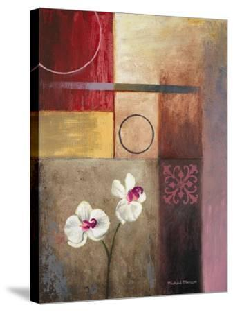 Flowers and Abstract Study I-Michael Marcon-Stretched Canvas Print