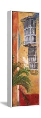 Balcones De Cartagena I-Patricia Pinto-Framed Stretched Canvas Print