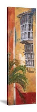 Balcones De Cartagena I-Patricia Pinto-Stretched Canvas Print