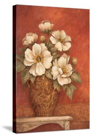 Villa Flora Peonies-Pamela Gladding-Stretched Canvas Print