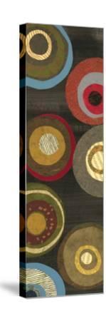 Flight of Fancy VIII Circles-Jeni Lee-Stretched Canvas Print