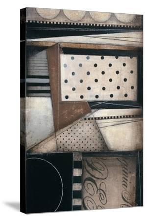 Fancy Letters II-Kimberly Poloson-Stretched Canvas Print