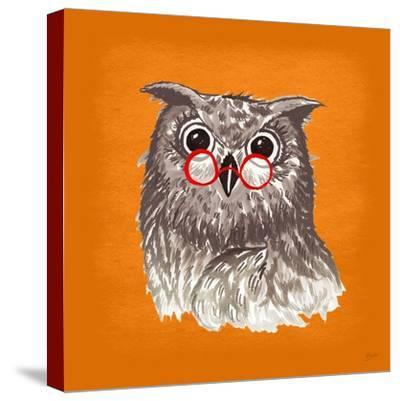 Owl-Bella Dos Santos-Stretched Canvas Print