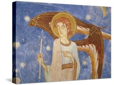 Angel on the West Wall--Stretched Canvas Print