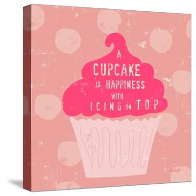 Happy Cupcake-Lola Bryant-Stretched Canvas Print