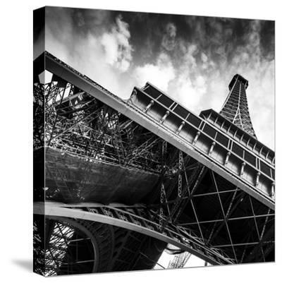 Paris Tour 9-David Innes-Stretched Canvas Print
