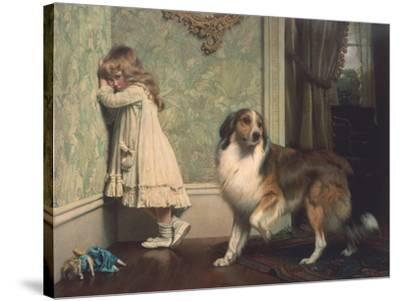 Special Pleader-Charles Burton Barber-Stretched Canvas Print