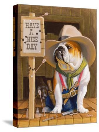 Have A Nice Day-Bryan Moon-Stretched Canvas Print