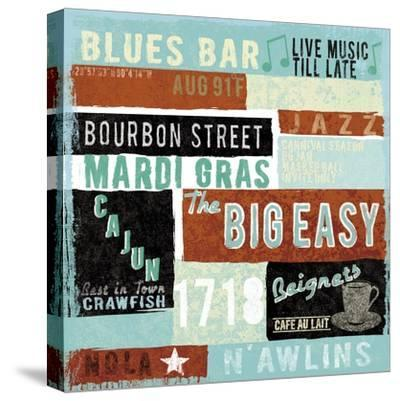 New Orleans-Tom Frazier-Stretched Canvas Print