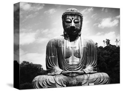 Great Buddha of Kamakura--Stretched Canvas Print