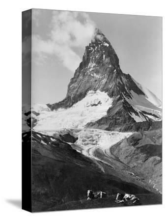 View of the Matterhorn-Philip Gendreau-Stretched Canvas Print
