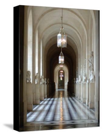 Hallway, Versailles, France-Lisa S^ Engelbrecht-Stretched Canvas Print