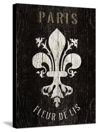 Refurbished Fleur de Lis-Hugo Wild-Stretched Canvas Print