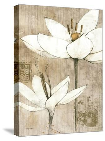 Pencil Floral I-Avery Tillmon-Stretched Canvas Print
