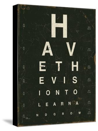 Eye Chart IV-Jess Aiken-Stretched Canvas Print