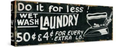 Vintage Sign I-Pela Design-Stretched Canvas Print
