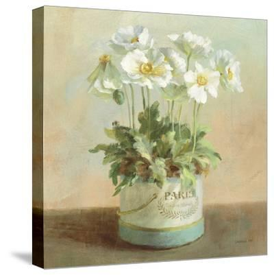 Tres Chic Poppies-Danhui Nai-Stretched Canvas Print