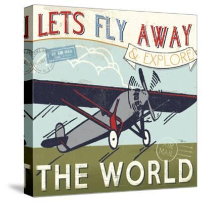 Let's Travel II-Pela Design-Stretched Canvas Print