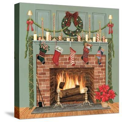 Home for the Holidays I-David Carter Brown-Stretched Canvas Print