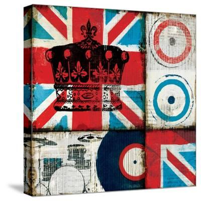 British Rock II-Mo Mullan-Stretched Canvas Print