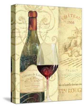 Wine Passion II-Daphne Brissonnet-Stretched Canvas Print