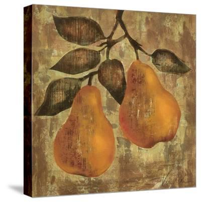 Pear-Silvia Vassileva-Stretched Canvas Print
