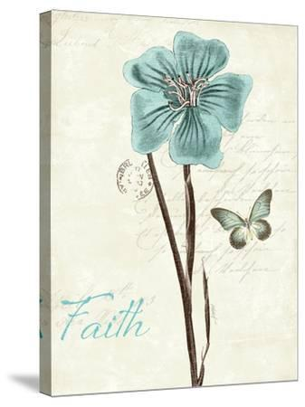 Slated Blue III Faith-Katie Pertiet-Stretched Canvas Print