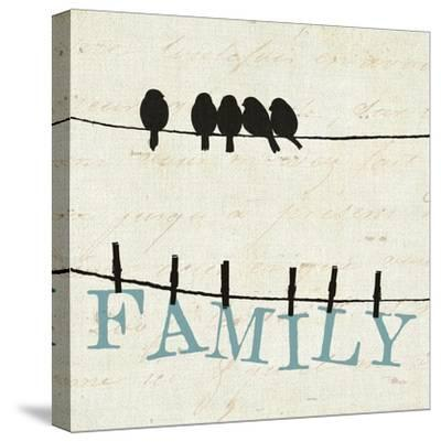 Bird Talk III-Pela Design-Stretched Canvas Print