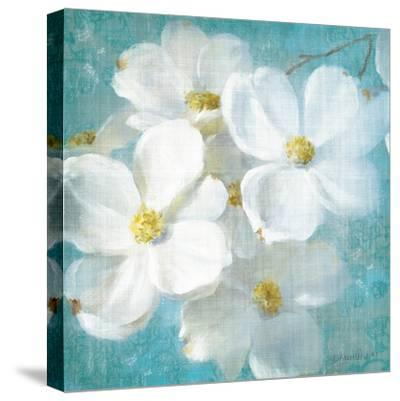 Indiness Blossom Square Vintage II-Danhui Nai-Stretched Canvas Print