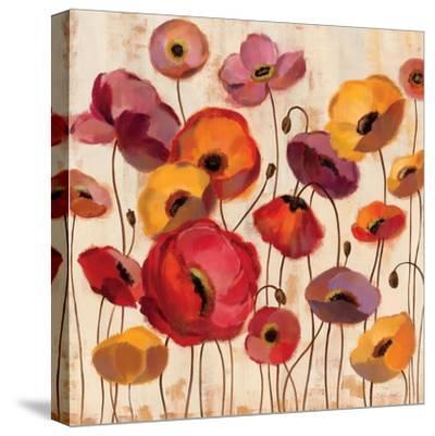 Sunrise Anemones-Silvia Vassileva-Stretched Canvas Print