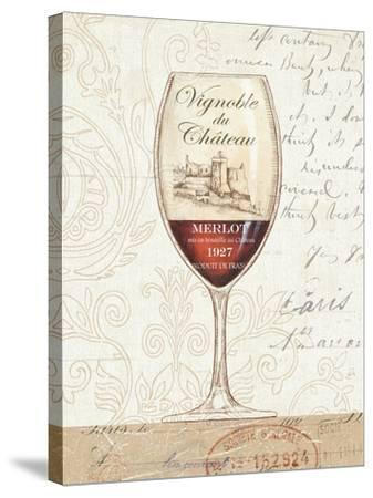 Wine by the Glass II-Daphne Brissonnet-Stretched Canvas Print
