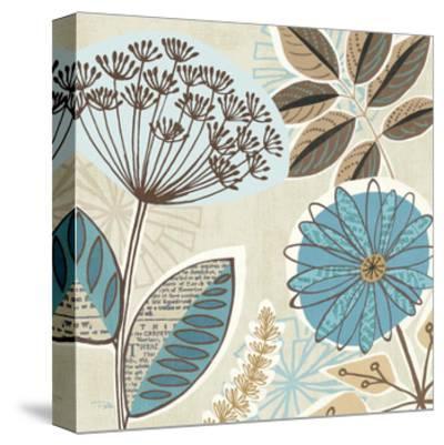 Funky Flowers IV-Pela Design-Stretched Canvas Print