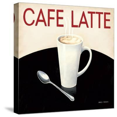 Cafe Moderne I-Marco Fabiano-Stretched Canvas Print