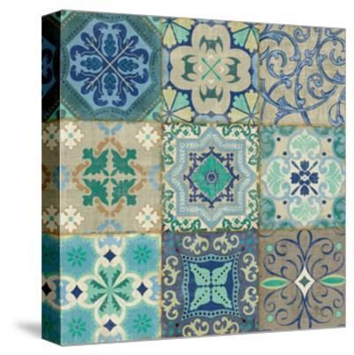 Santorini I-Pela Design-Stretched Canvas Print