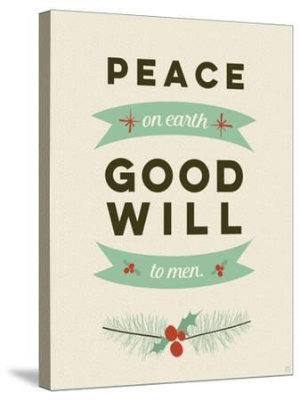 Peace on Earth-Aubree Perrenoud-Stretched Canvas Print
