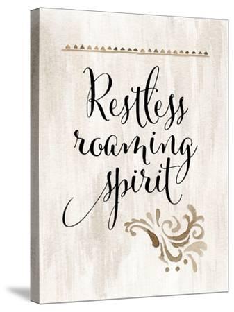 Restless Roaming Spirit-Tara Moss-Stretched Canvas Print