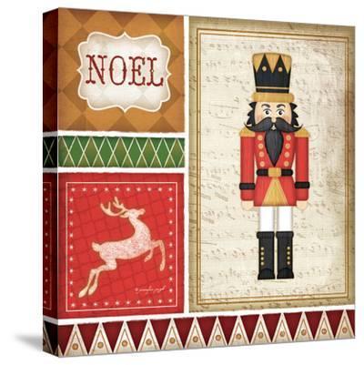 Nutcracker Noel-Jennifer Pugh-Stretched Canvas Print