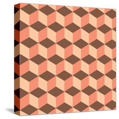 Geometric Background-AnaMarques-Stretched Canvas Print