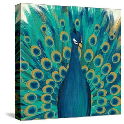 Proud as a Peacock I-Veronique Charron-Stretched Canvas Print