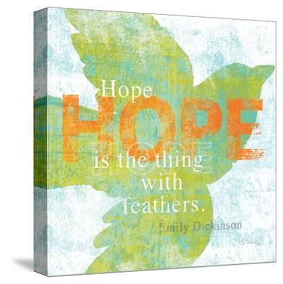 Letterpress Hope-Sue Schlabach-Stretched Canvas Print
